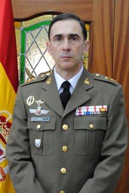 El General Jefe De La Brimz X, Teodoro Baños Alonso