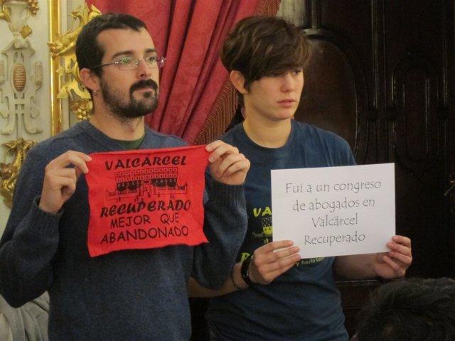 Representantes Del 15M En Un Pleno De La Diputación