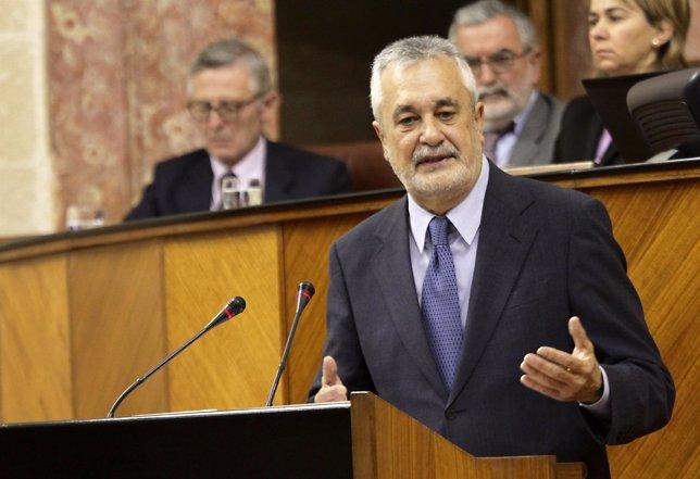 Griñán Interviene En El Debate De Balance De Legislatura