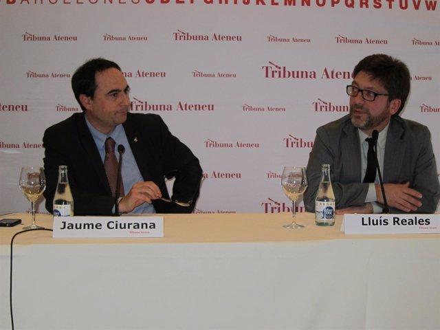 El Teniente De Alcalde De Cultura De Barcelona, Jaume Ciurana