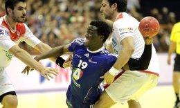 El Jugador Francés Luc Abalo