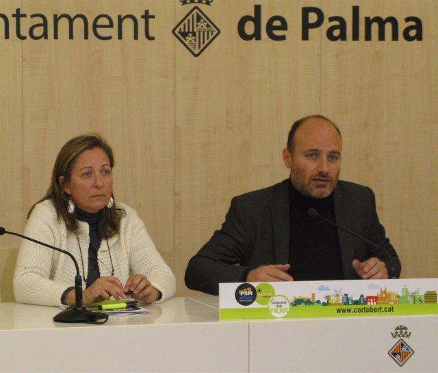 Marisol Fernández Y Antoni Veger.