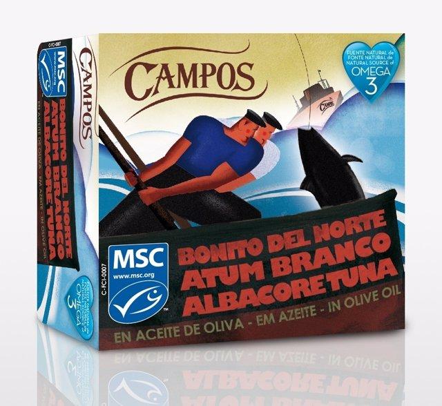 Bonito Campos Con El Sello MSC