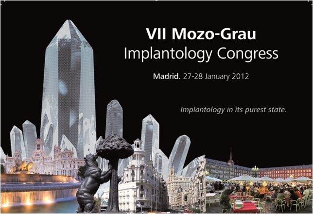 Cartel De Las 'Jornadas De Actualización En Implantología'.