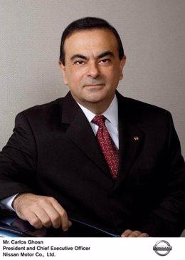 Carlos Ghosn, CEO de Nissan