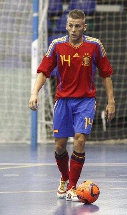 Miguelín, De Elpozo Murcia FS, Como Jugador De La Selección