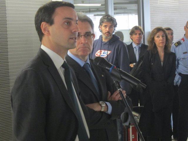 El Director De Mossos, Manel Prat