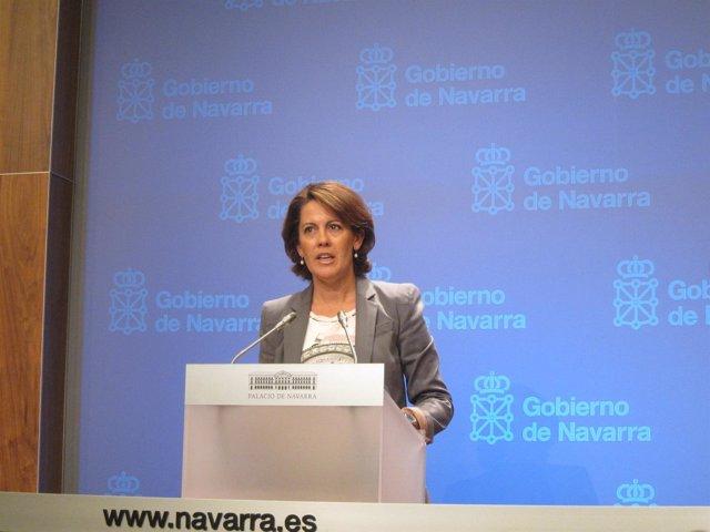 La Presidenta De Navarra, Yolanda Barcina.