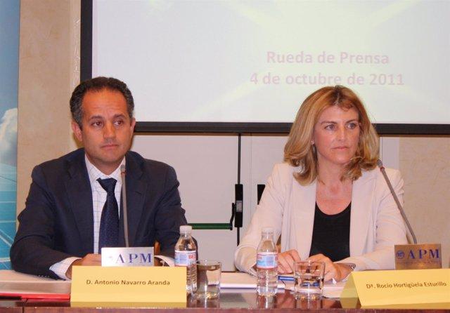 Antonio Navarro Y Rocío Hortigüela, Copresidentes De UNEF