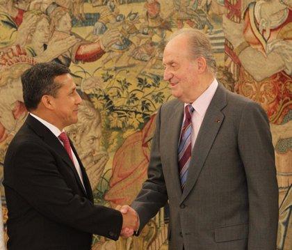 El Rey se reunió con Humala en Zarzuela