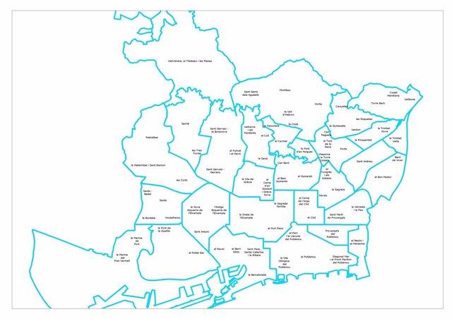 Mapa Zonas Escolares