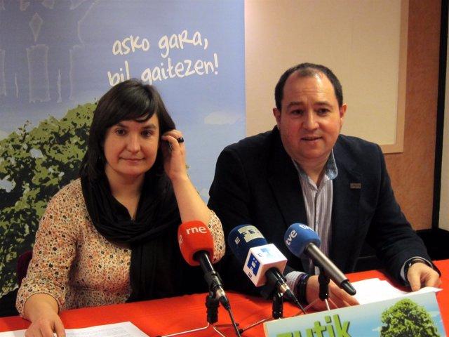 Maribi Ugarteburu Y Pernando Barrena.