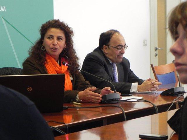 La Delegada De Economía, María José Asensio.