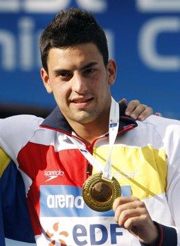El saltador español Javier Illana
