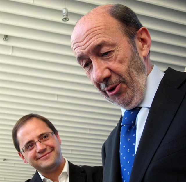 César Luena Y Alfredo Pérez Rubalcaba