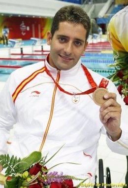 El Nadador Paralímpico Pablo Cimadevila