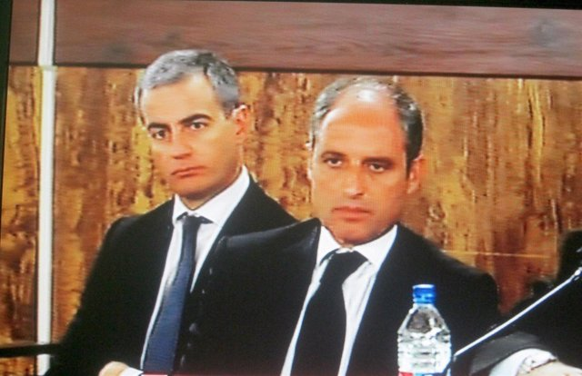 Ricardo Costa Y Francisco Camps En El Juicio