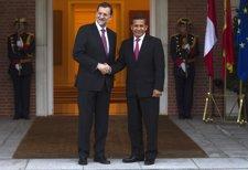 Rajoy Y Humala (Perú) En La Moncloa