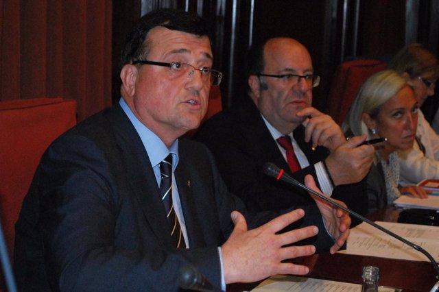 Francesc Xavier Mena, En El Parlament