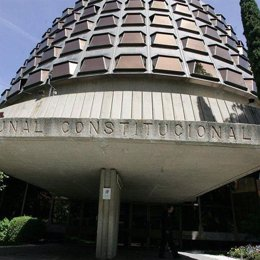 Fachada del Tribunal Constitucional (TC)