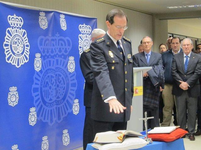 Manuel Peña. Jefe Superior Policía Cantabria