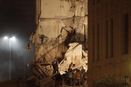 Se derrumban tres edificios en el centro de Río Janeiro
