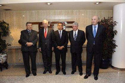 Perú.- Humala y empresarios españoles se reúnen para analizar las oportunidades de negocio en sectores clave de Perú