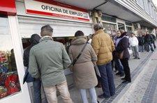 Oficina De Empleo En Madrid, INEM, Paro