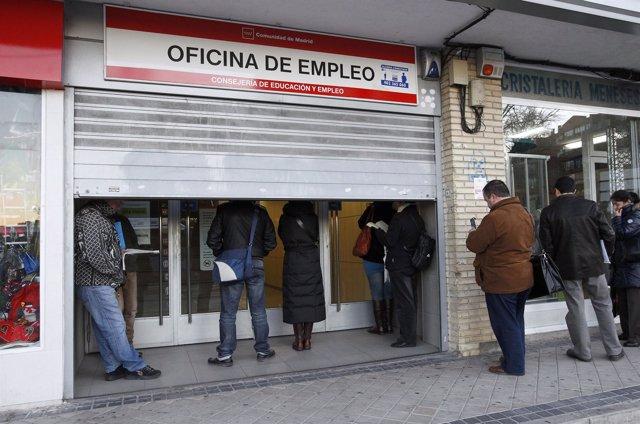 Oficina De Empleo Del INEM, Paro