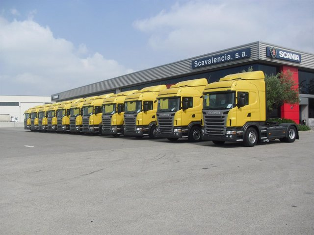 Compra De Camiones De Scania De Distribuidores De DHL