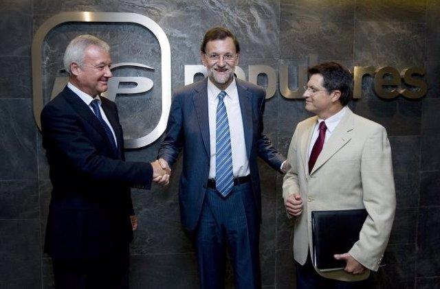 Valcárcel, Rajoy Y Jódar
