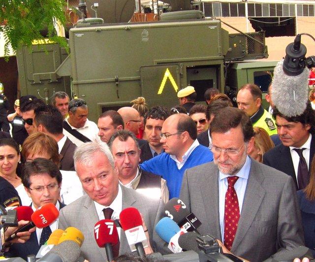 Jódar, Valcárcel Y Rajoy
