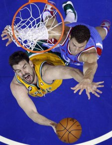 Marc Gasol Y Blake Griffin, Grizzlies-Clippers