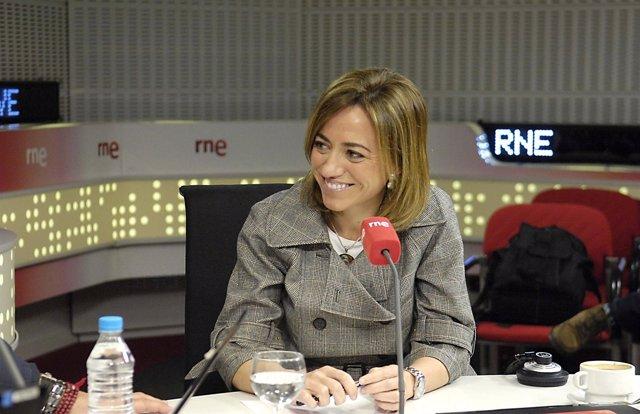 Imagen De Carme Chacón En RNE