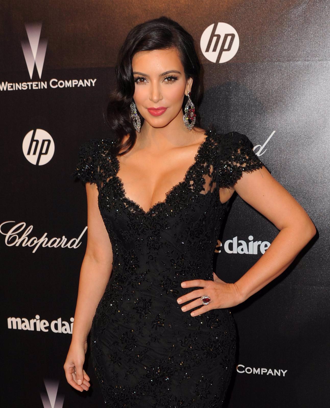 Kim Kardashian En Un Photocall