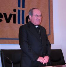 El Arzobispo De Sevilla, Juan José Asenjo, Hoy En Sevilla