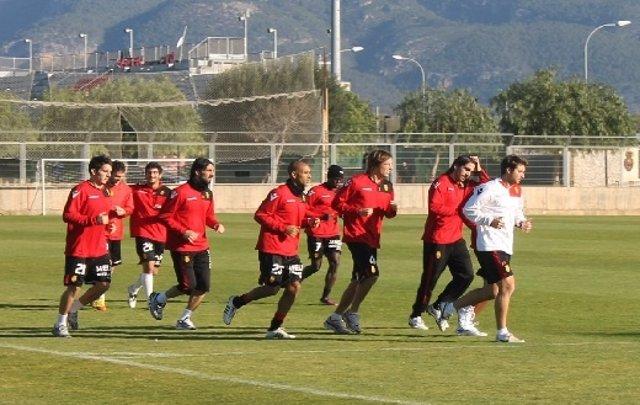 Entrenamiento Del RCD Mallorca