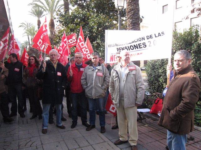 Manifestación CCOO