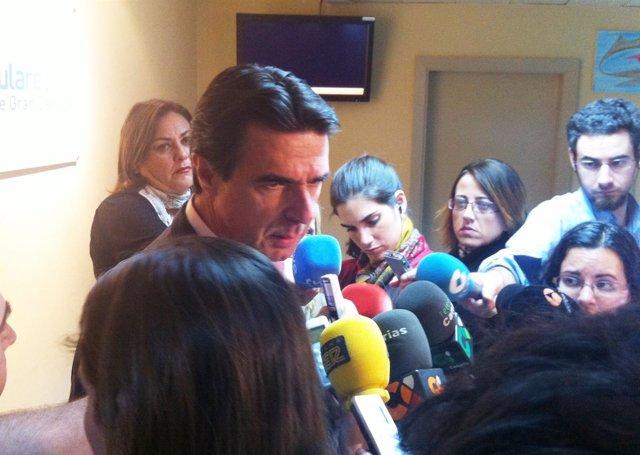 Ministro De Industria, Turismo Y Comercio, José Manuel Soria, Antes De Comité PP
