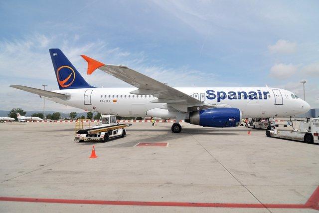 Avión Spanair