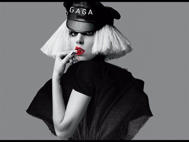 Lady Gaga Portada Disco