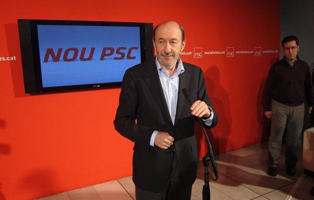 Alfredo Pérez Rubalcaba (PSOE)