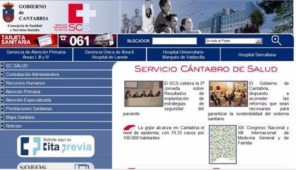 Cantabria.- Fijados los puestos directivos de las Gerencias de Atención Primaria y Especializada del Servicio  de Salud