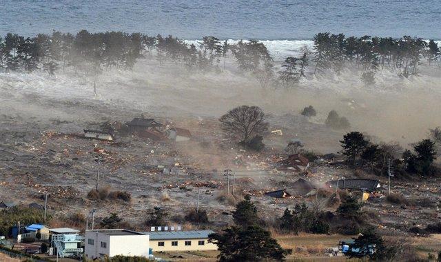 Terremoto, tsunami en Japón