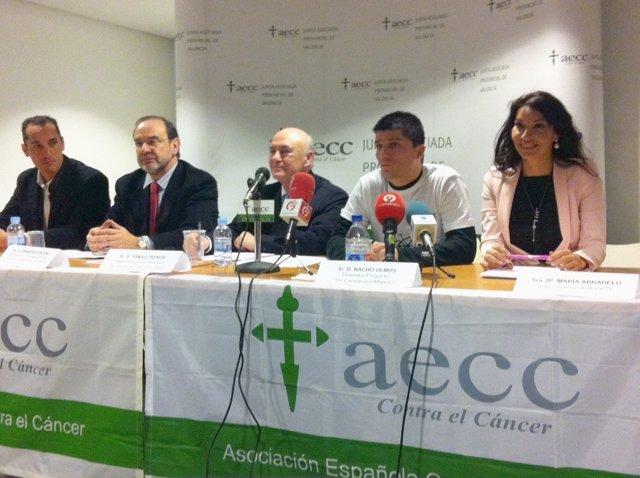 Tomás Trénor Presidente De La Junta Provincial De La AECC