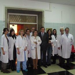 Equipo Médico De HUCA Encargado De Trasplante De Antebrazo