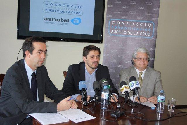 Talg, Marichal Y Senante En Rueda De Prensa