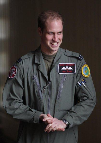 El príncipe Guillermo viaja a las islas Malvinas para recibir entrenamiento militar