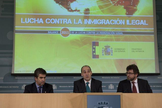 Balance 2011 De La Lucha Contra La Inmigración Ilegalsecretario De Estado De Seg