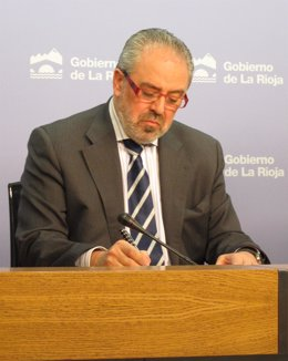 José Ignacio Nieto, Consejero De Salud Del Gobierno De La Rioja
